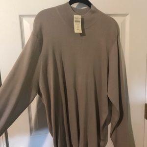 NWT Coldwater creek 3x silk and cotton sweater NWT